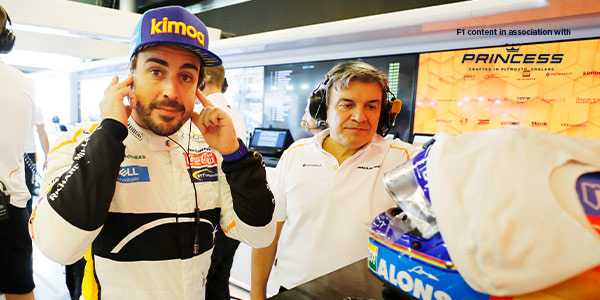 Alonso to test 2019 McLaren F1 car