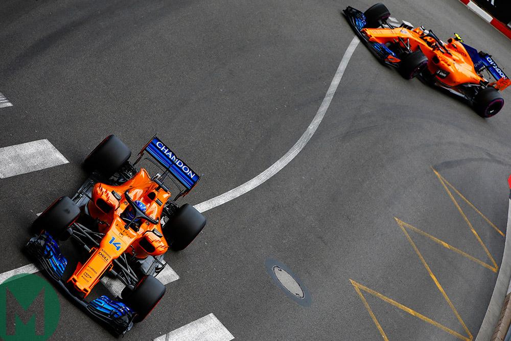 McLaren F1 Monaco 2018
