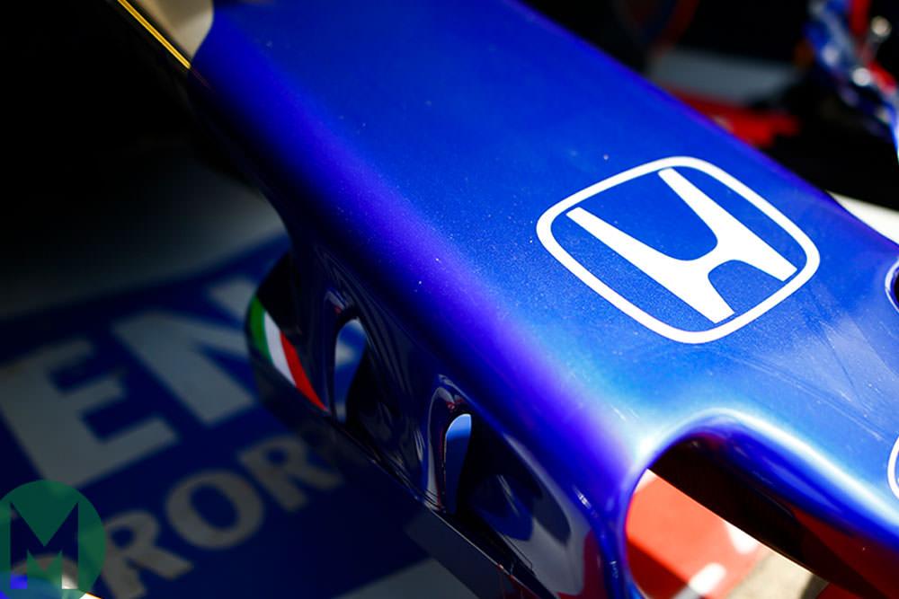 Toro Rosso-Honda in the pits, Canadian F1 Grand Prix 2018