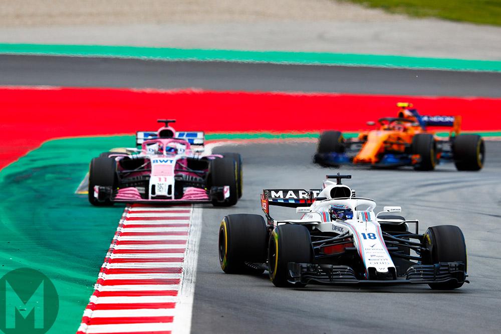 2018 Austrian Grand Prix Williams, Force India, McLaren