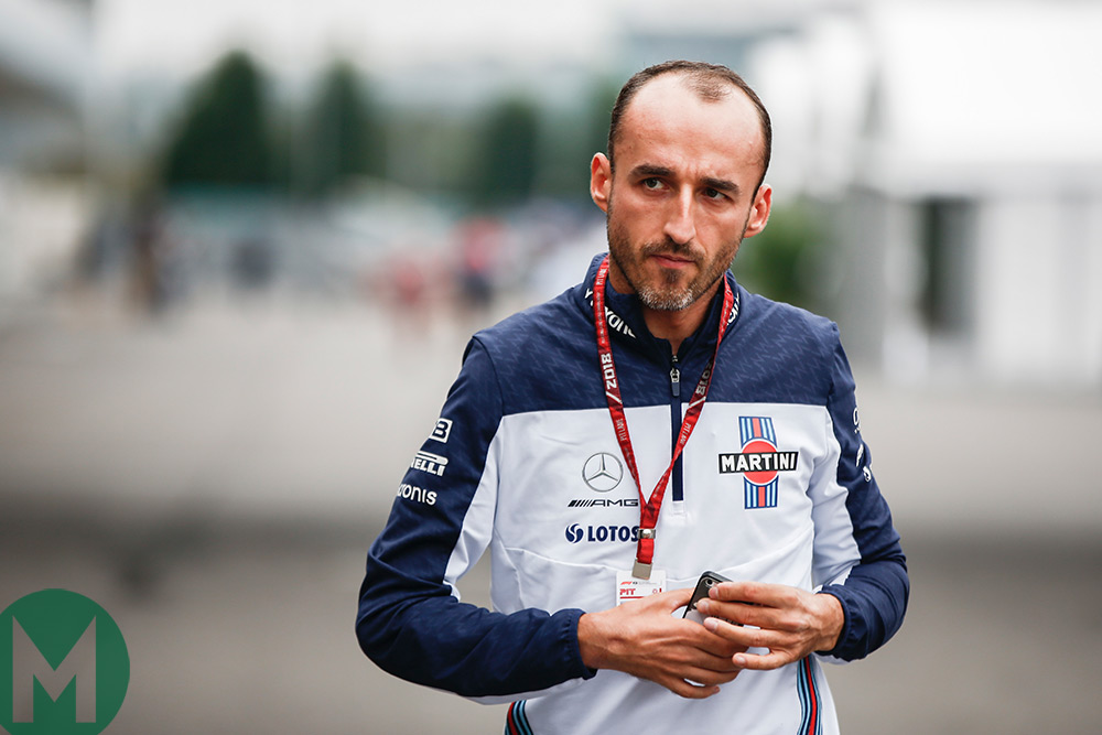 Robert Kubica to race for Williams in 2019
