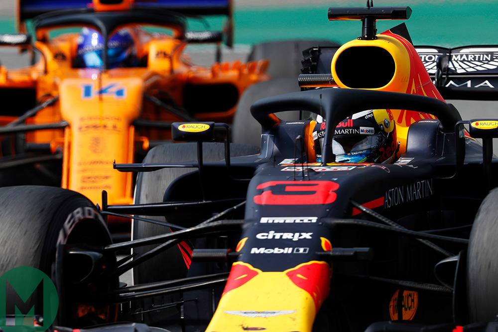 Ricciardo Alonso 2018