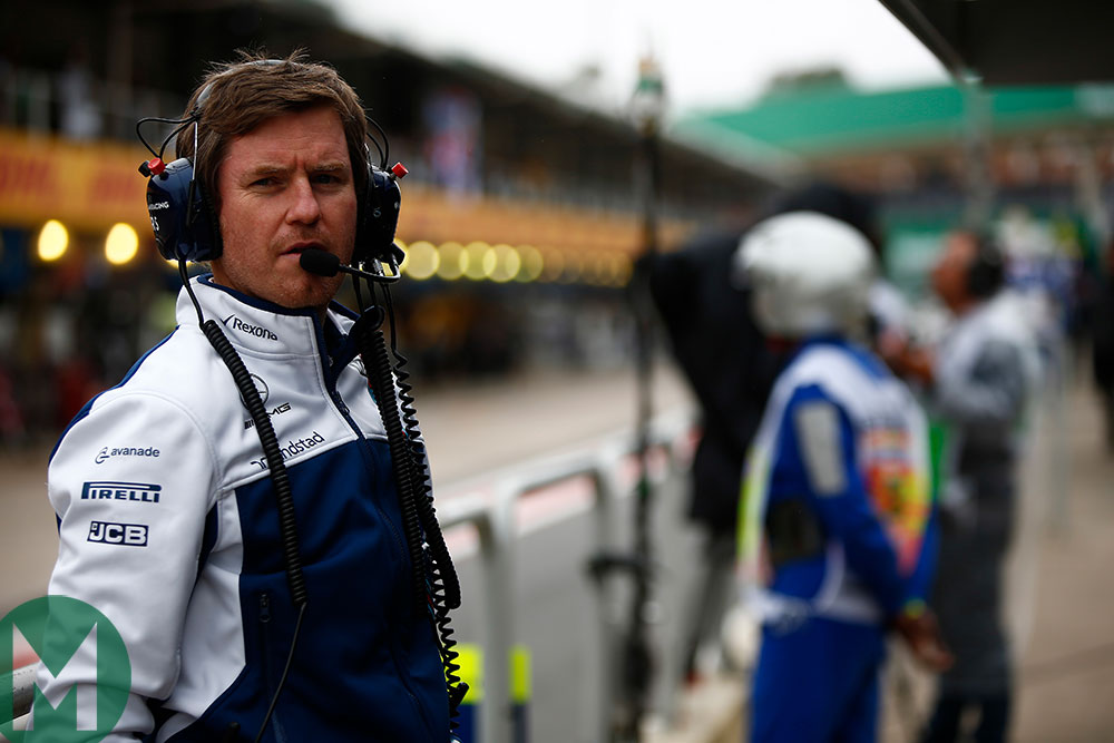 Rob Smedley Williams head of engineering