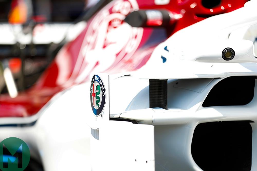 Sauber 2018 F1 car