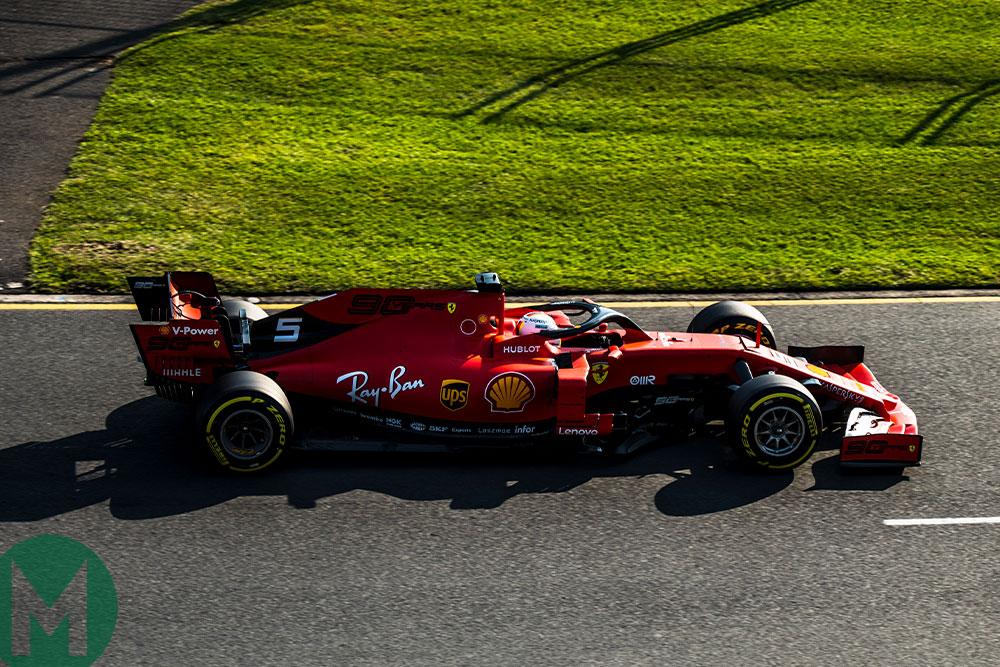 Ferrari 2019 Australian GP