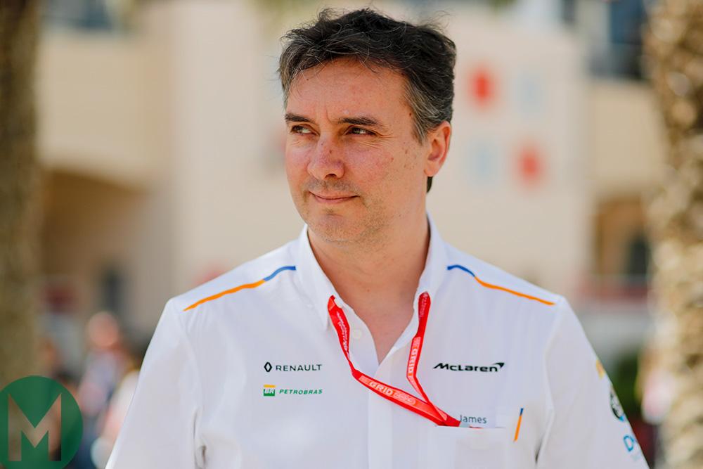 James Key McLaren F1