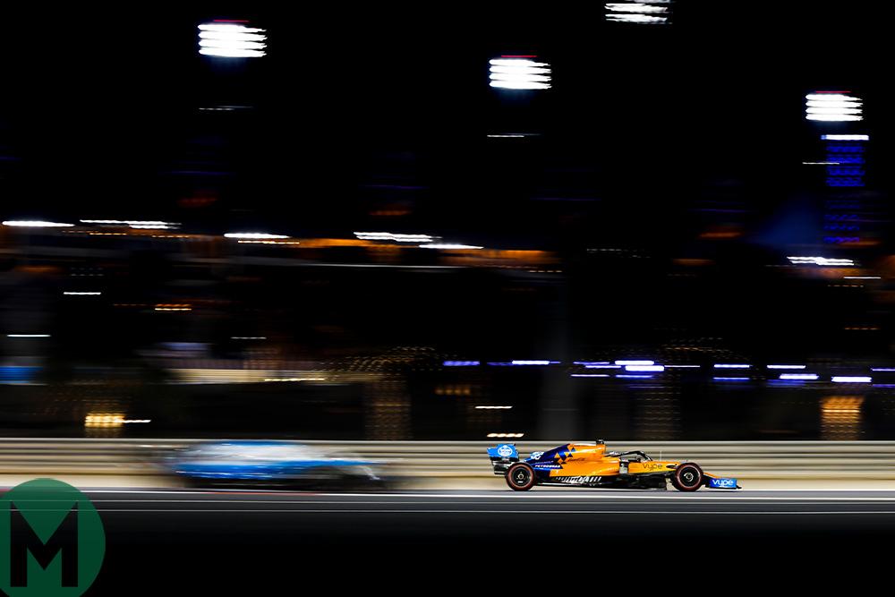 McLaren F1 2019 Bahrain