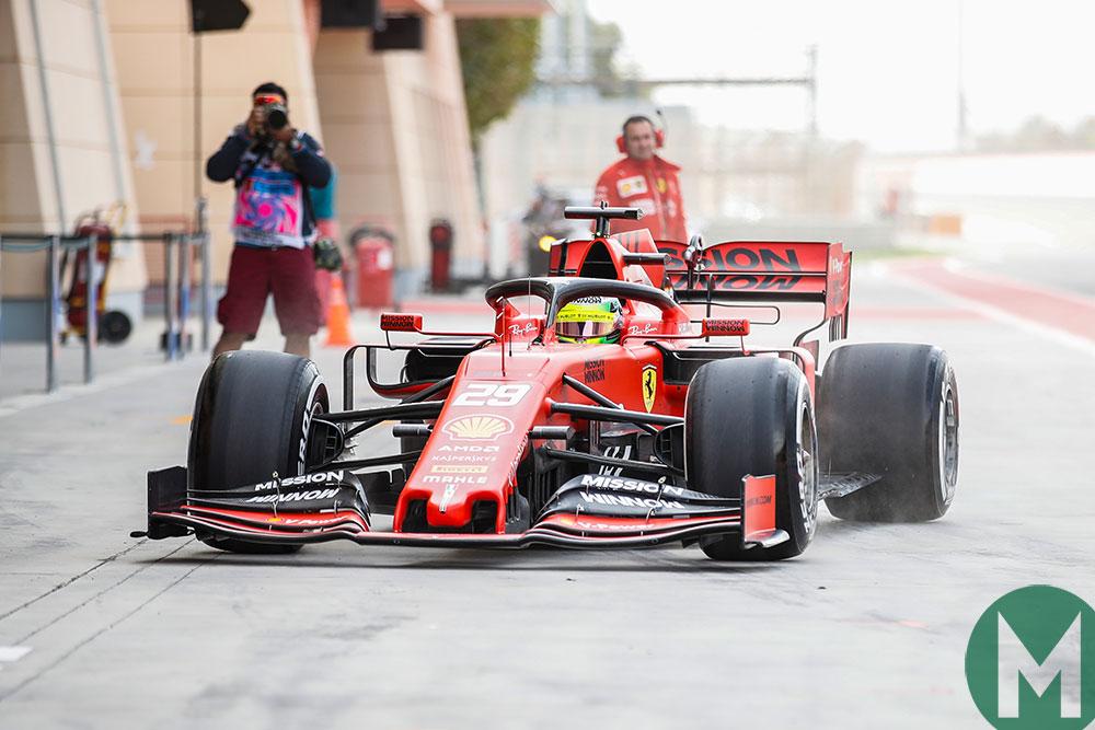 Alonso to Vettel via Schumacher - Bahrain's F1 test