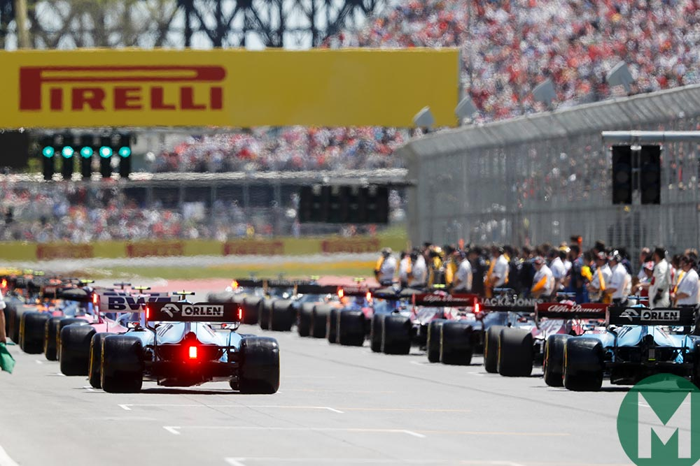 2019 Canadian Grand Prix - race results