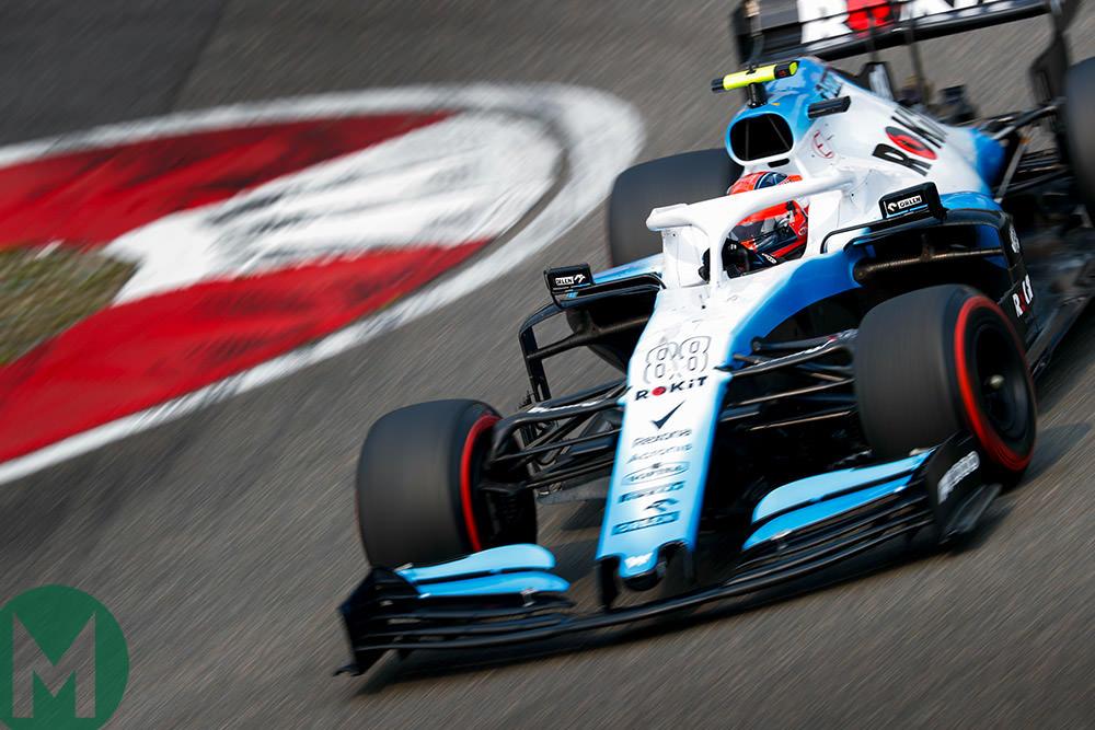 Robert Kubica FP1 2019 F1