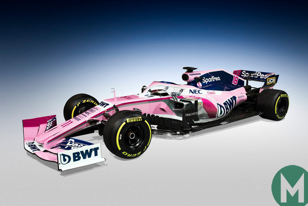 Racing Point F1 car 2019
