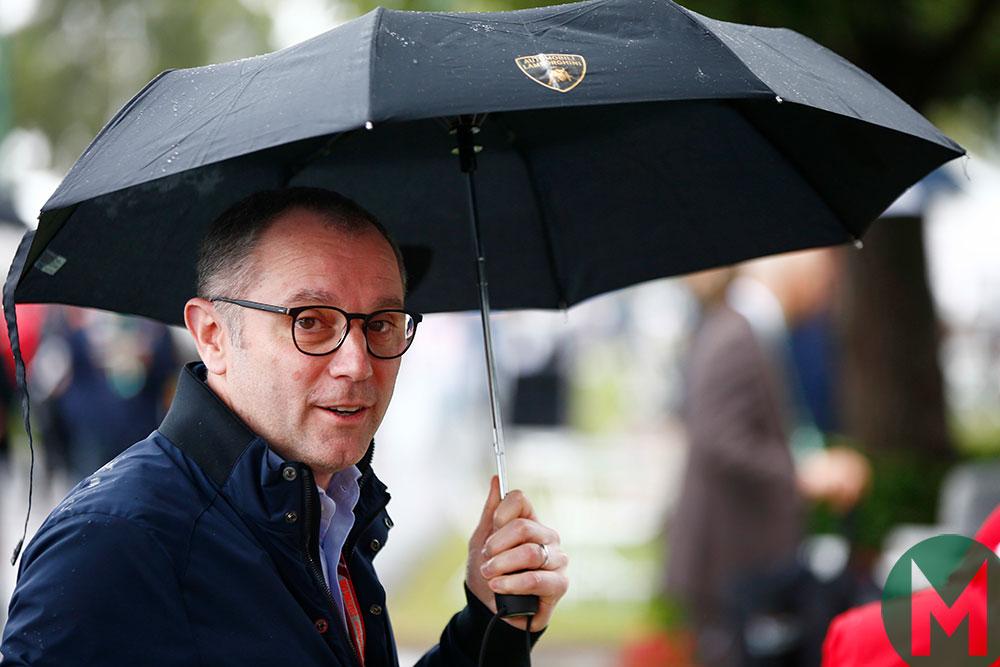 Stefano Domenicali, Lamborghini boss, 2018
