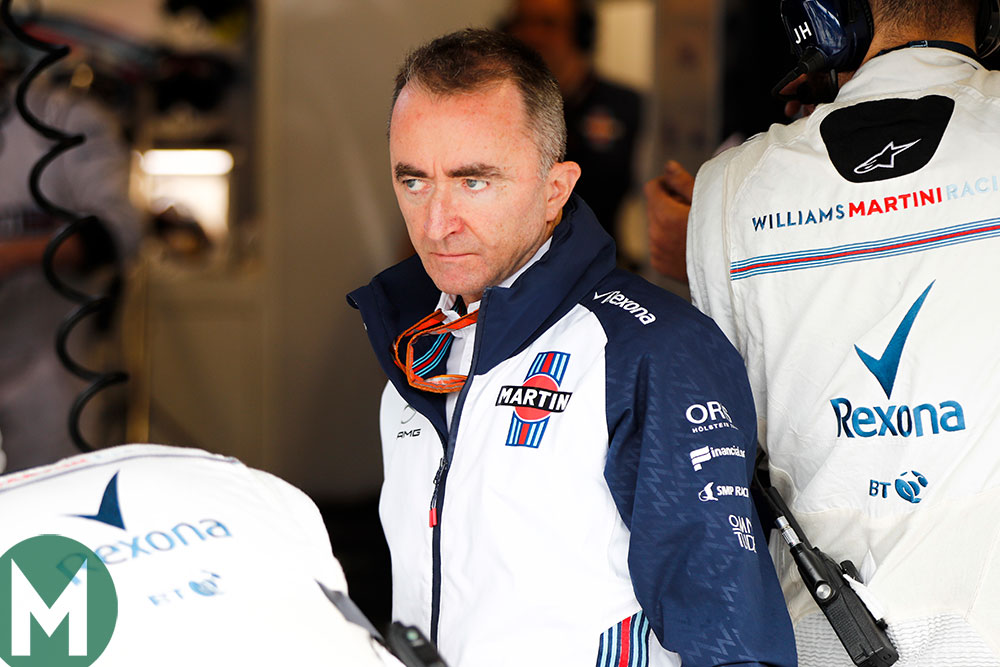 Williams technical chief Paddy Lowe