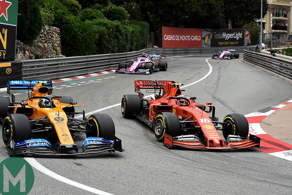 Leclerc channelled Villeneuve at Monaco...