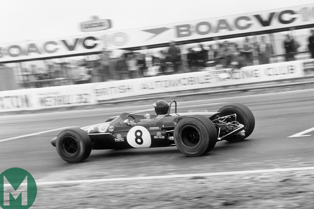 Jochen Rindt Thruxton 1968 F2 race