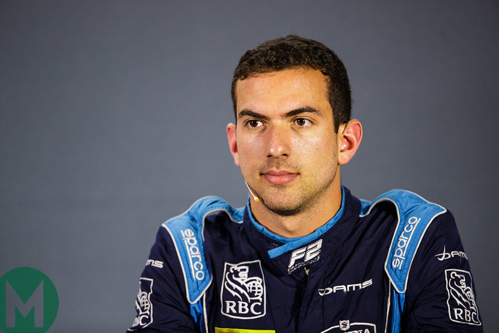 Nicholas Latifi 2019 development driver williams