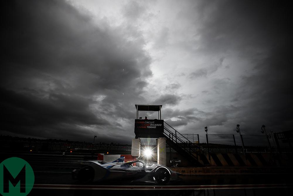 Formula E Valencia test 2018