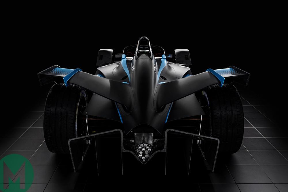 Formula E Gen 2 car rear