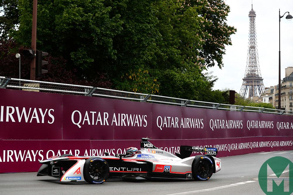 2018 Paris ePrix Edoardo Mortara Venturi