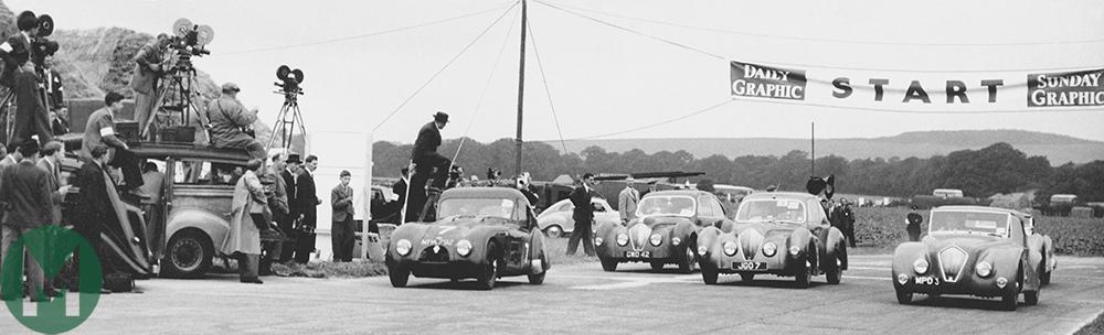 Goodwood first race 1948