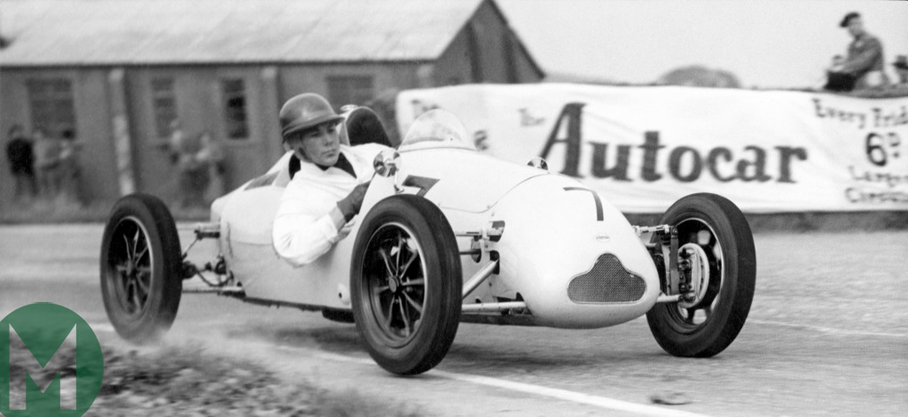Stirling Moss, first win at Goodwood, 1948