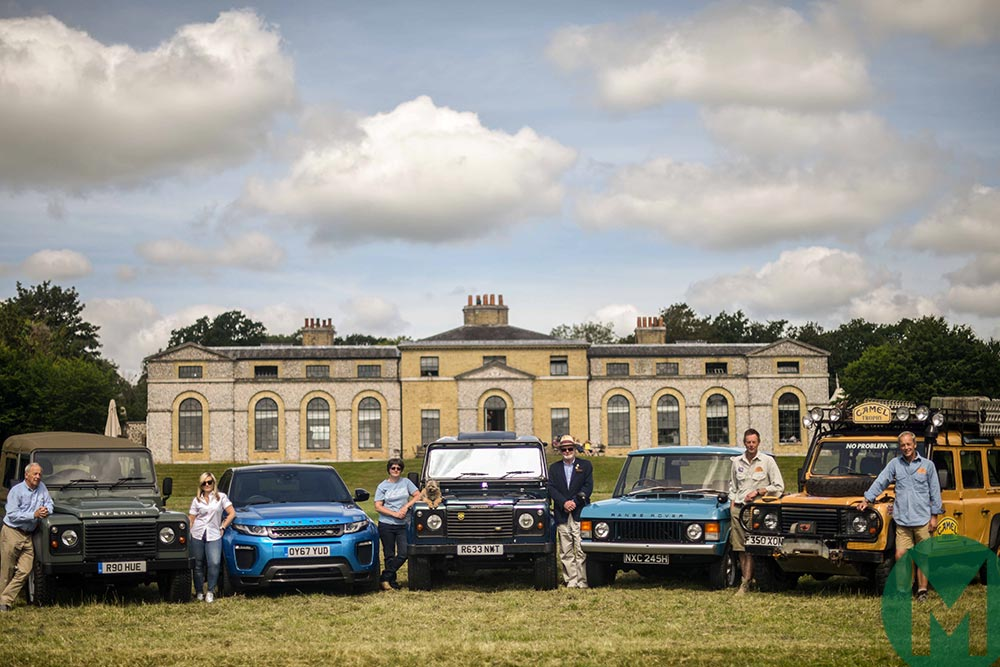 Land Rover celebrates 70th anniversary at Goodwood