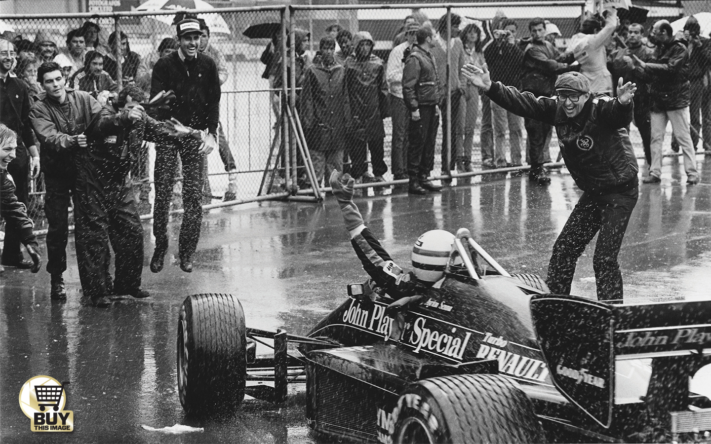 12 1985 Portuguese Gp Motor Sport Magazine Grand Prix Starting Lights Nowadays Youd Have A Safety Car Start But This Was Senna Took Off At The Green Light Settled Into Consistent Rhythm And Left Adversaries Trailing