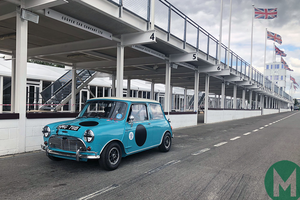 The Swiftune-prepared Mini Dickie Meaden will race at the 2018 Goodwood Revival