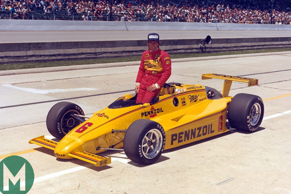 Rick Mears 1984 Indy 500