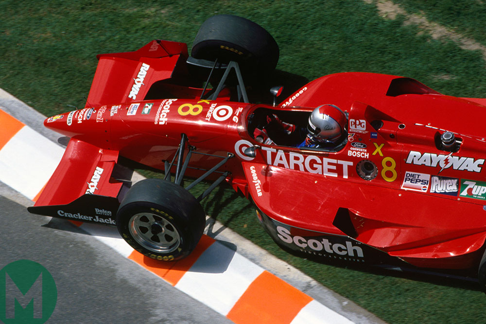 Michael Andretti in his Ganassi Reynard at Surfers Paradise in 1994