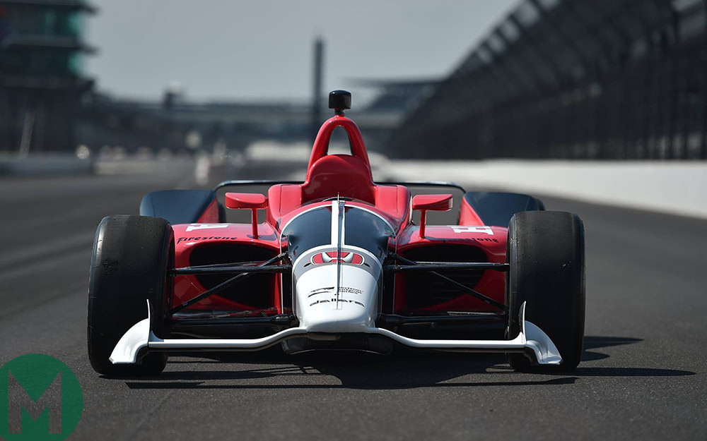 New IndyCar aero kit debuts at Indianapolis Motor Speedway