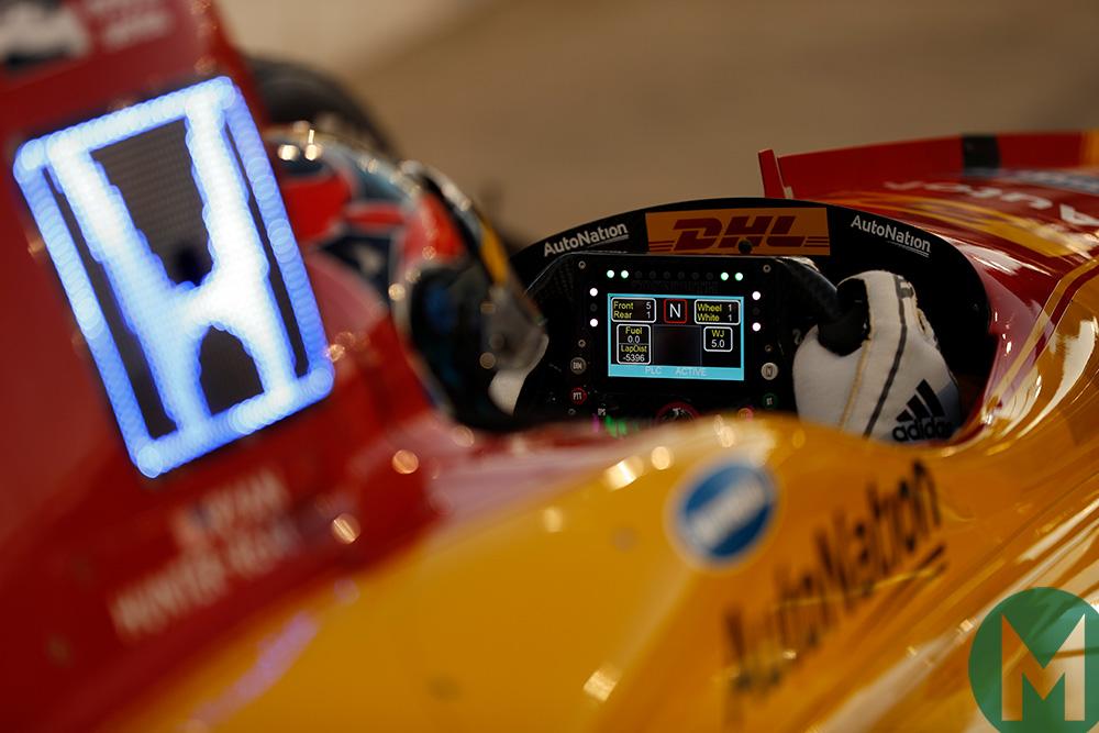 Honda testing IndyCar phoenix 2018