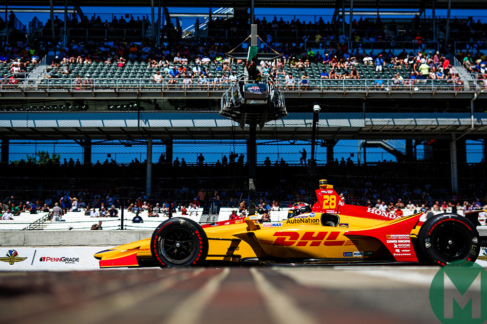 Ryan Hunter-Reay Indy500 2018