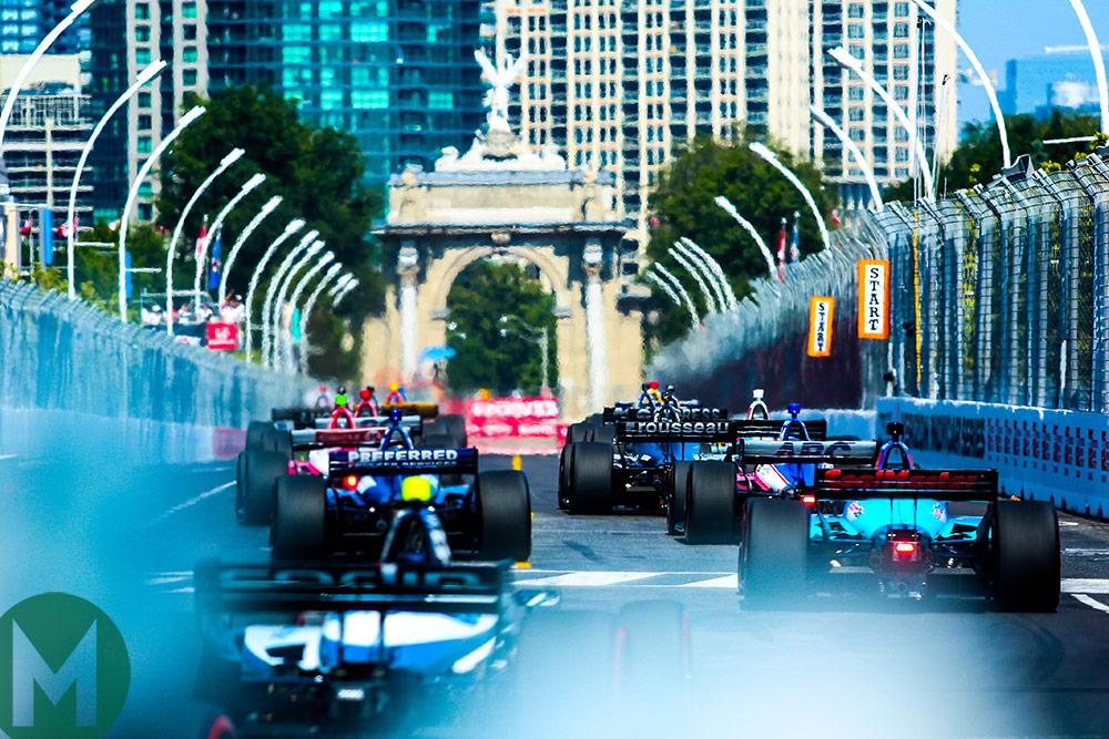 Toronto IndyCar start