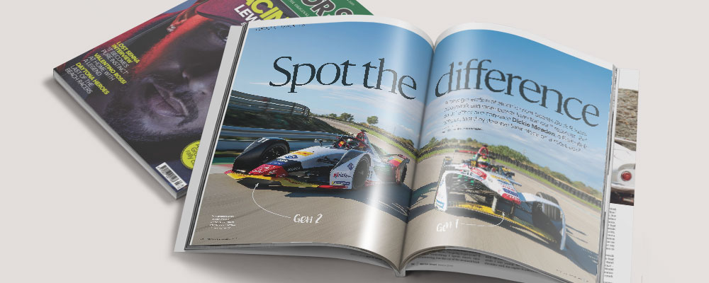 Motor sport magazine march 2019 relaunch issue