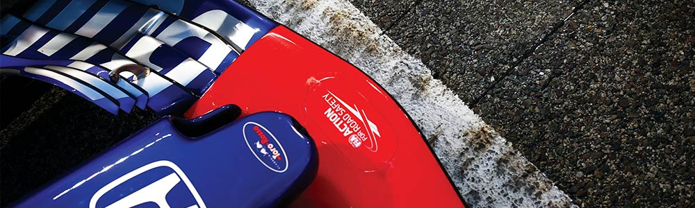 Toro Rosso Formula 1 car nose on track