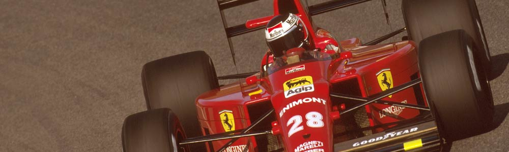 John barnard's ferrari formula 1 car