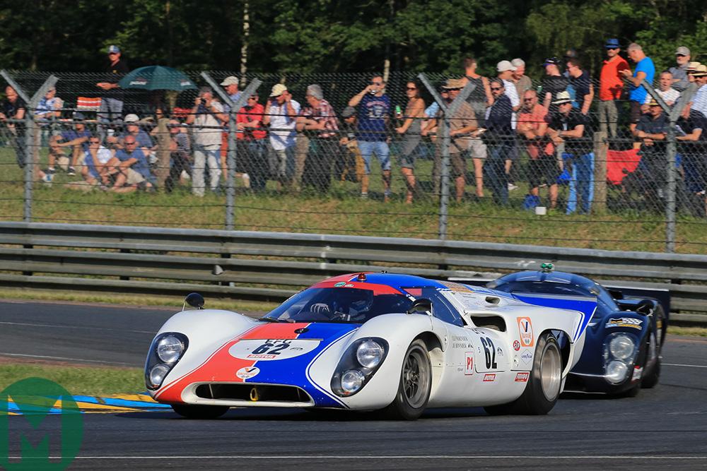 2018 Lola T70 Dickie Meaden Le Mans Classic