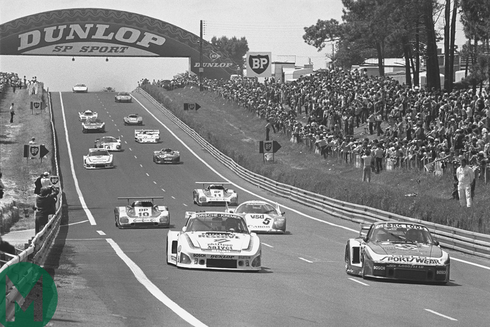 The Kremer 935 leads the 1979 Le Mans