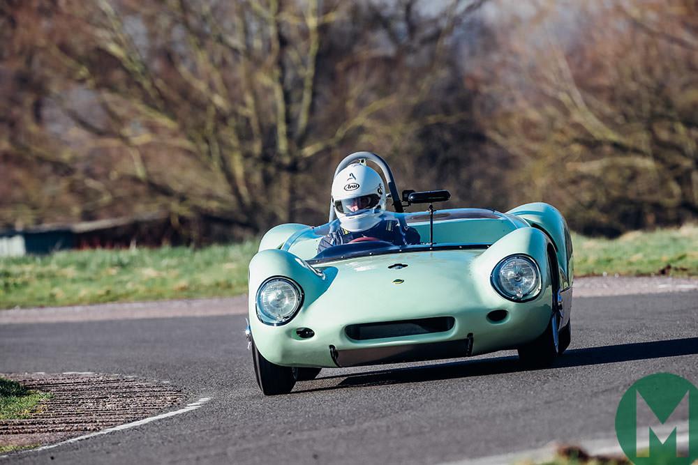 Lotus 19 on track