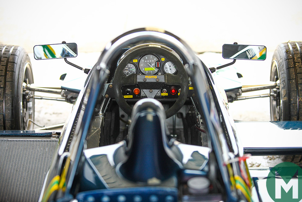 Senna Ralt RT3 cockpit