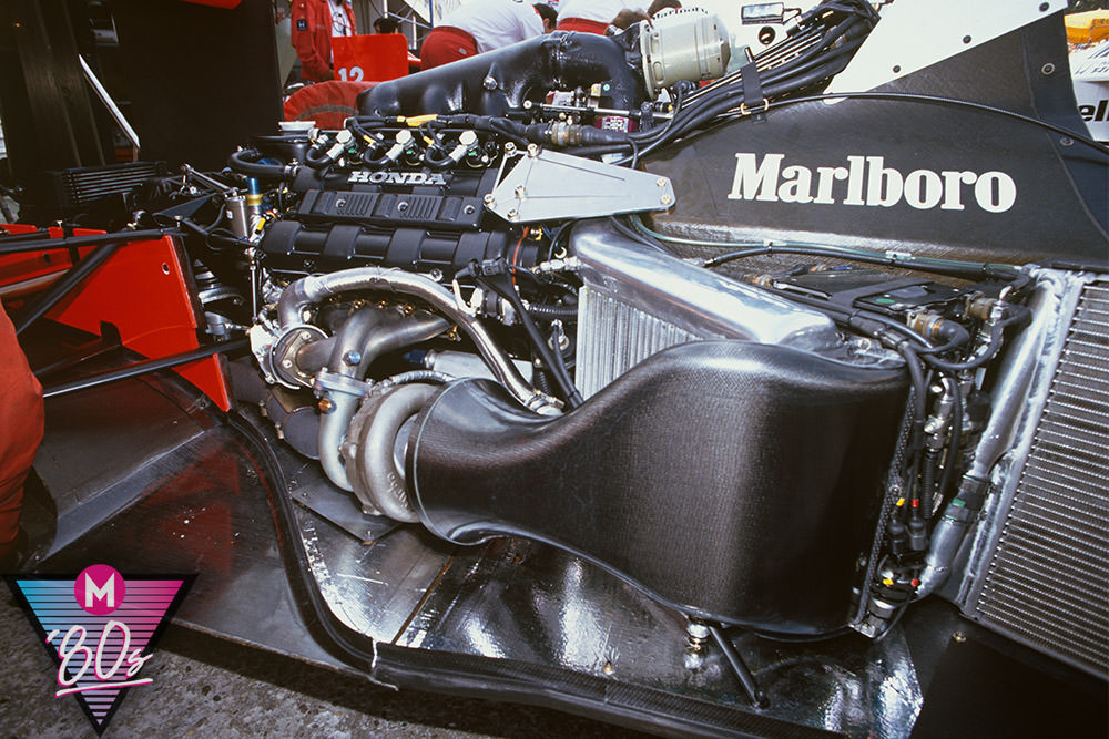 McLaren MP44 engine F1