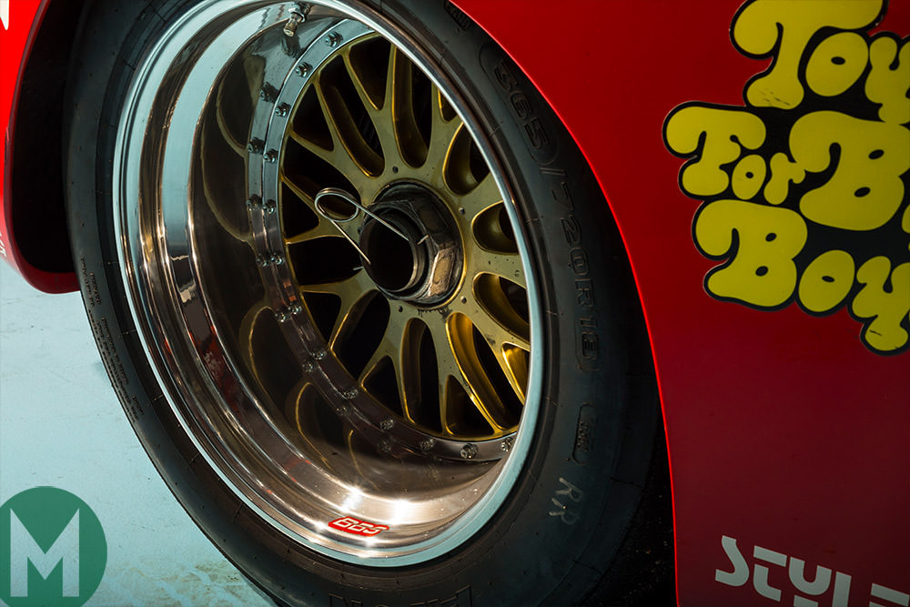 Paul Newman Porsche 935 BBS wheel