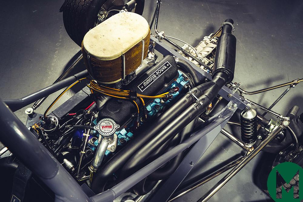 Ayrton Senna Van Diemen engine