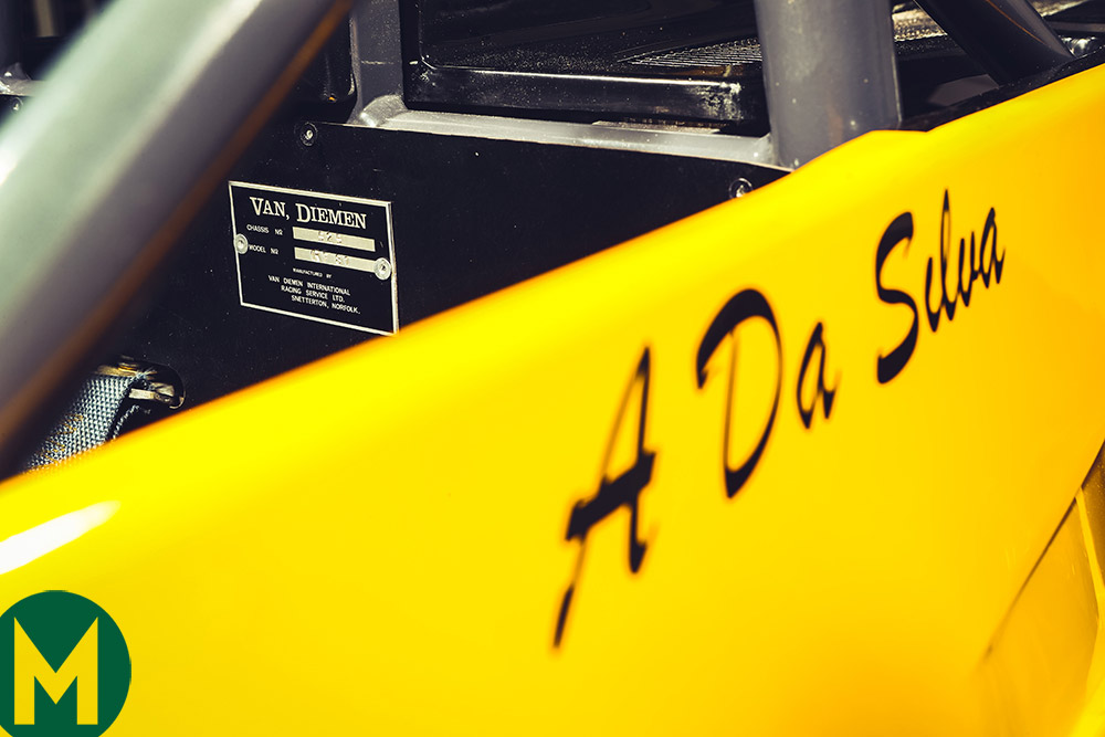 Van Diemen RF81 Senna