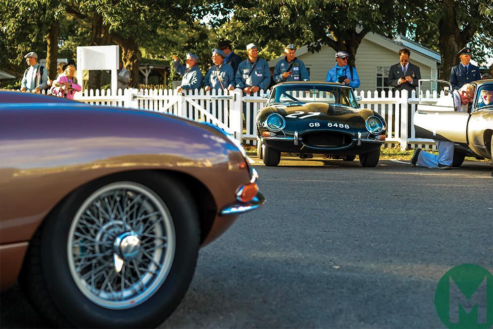 Etype Jaguar Goodwood 2018