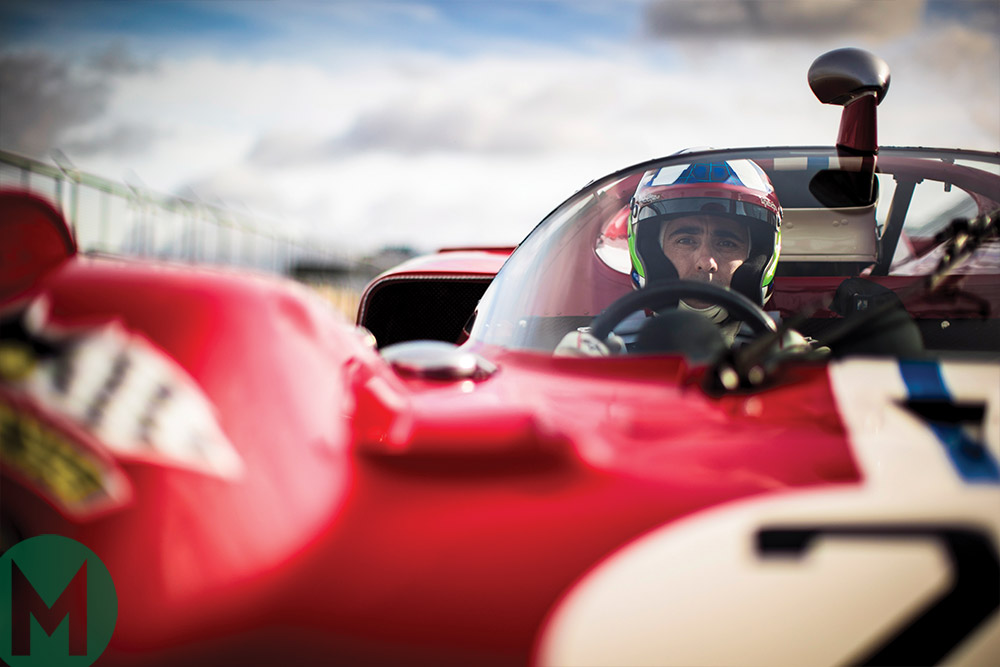 Dario Franchitti on the Ferrari 512S