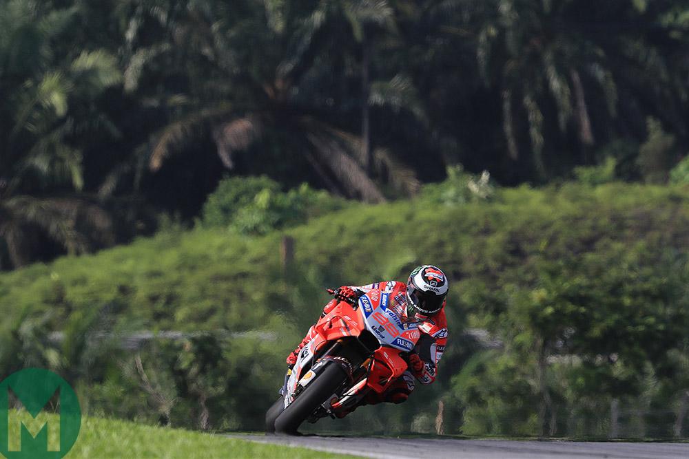 9e33cd16978 Lorenzo fastest in 3rd day of MotoGP testing
