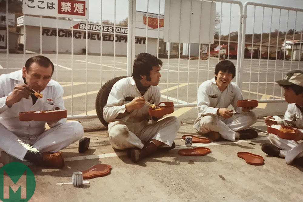 Murelli (left, during NR testing at Suzuka) Photo: Murelli archive