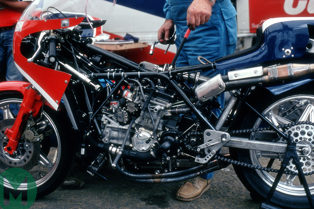 Honda NR500 in 1980 (Photo: HRC)
